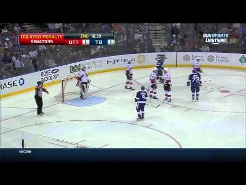 Ottawa Senators vs  Tampa Bay Lightning 24.03.2014