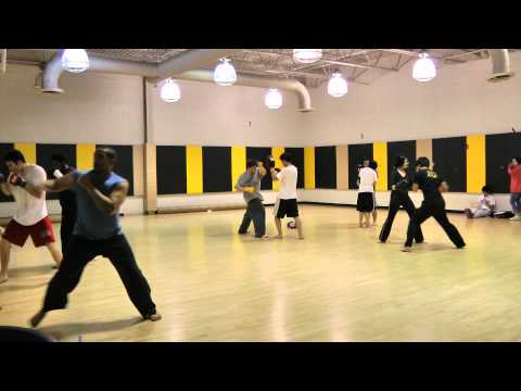 UMBC Wushu San Shou Practice - Part 1 Image 1