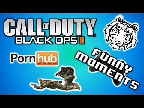 Black Ops 2 Funny Moments (Lion King, Pornhub, Cousin Steve, and Delirious Fellatio)