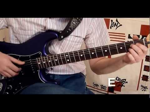 Как играть  блюз  ( play Blues ) . Урок 4