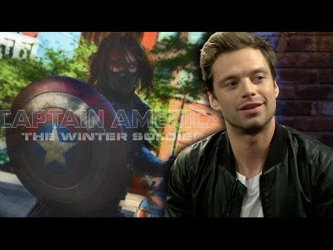 "Sebastian Stan, the Winter Soldier, Discusses ""Captain America 2"" with CBR TV"