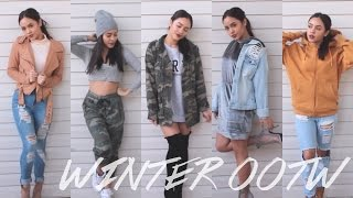 WINTER OOTW & OUTFIT IDEAS! | Maria Bethany