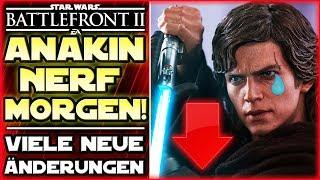 Anakin Nerf Morgen! - Heldenkosten, Heldenänderungen - Star Wars Battlefront 2