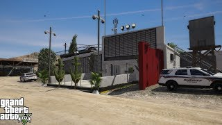 GTA 5 - NEW - POLICE STATION (GRAPESEED REMASTERED) MAP MOD