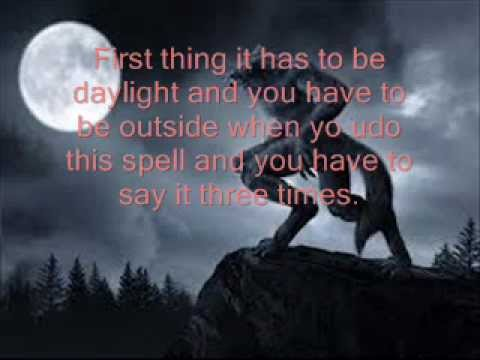 Were-wolf Spell - YouTube
