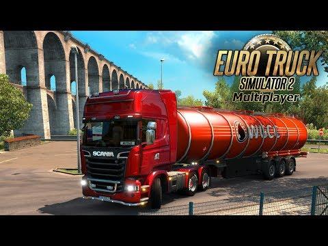 Стрим! Euro Truck Simulator 2 - На рождество в Италию!