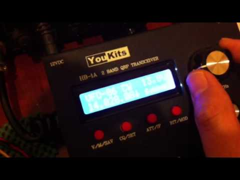 YouKits HB-1A 2 Band QRP Transceiver
