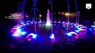 Поющий фонтан в Челябинске — самое красивое PRO видео