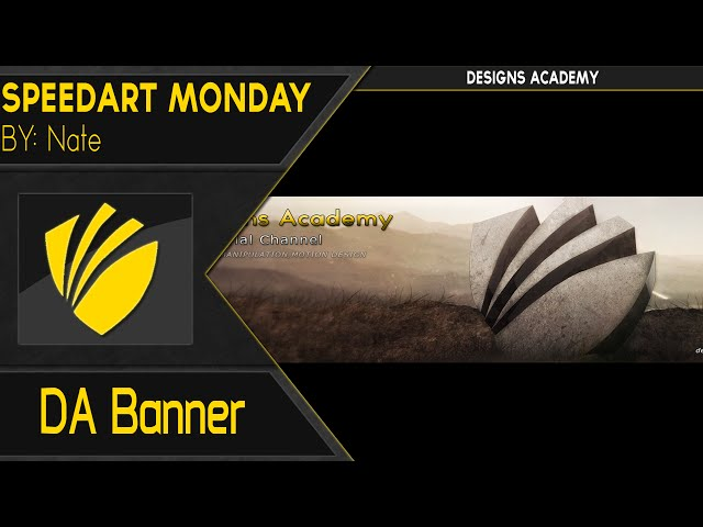 Speedart Monday: Introduction to New Member of DesignsAcademy | By: Nate