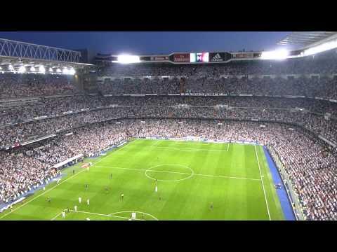 Ovación a Isco. Real Madrid - Barcelona (14/15)
