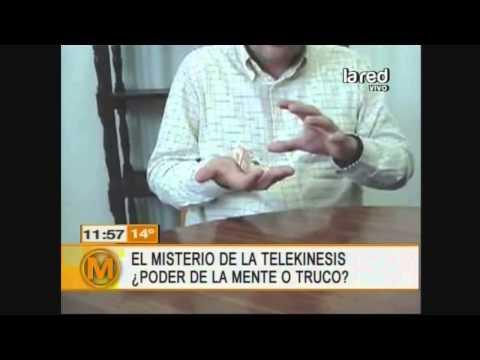 Salfate muestra verdaderos casos de telekinesis