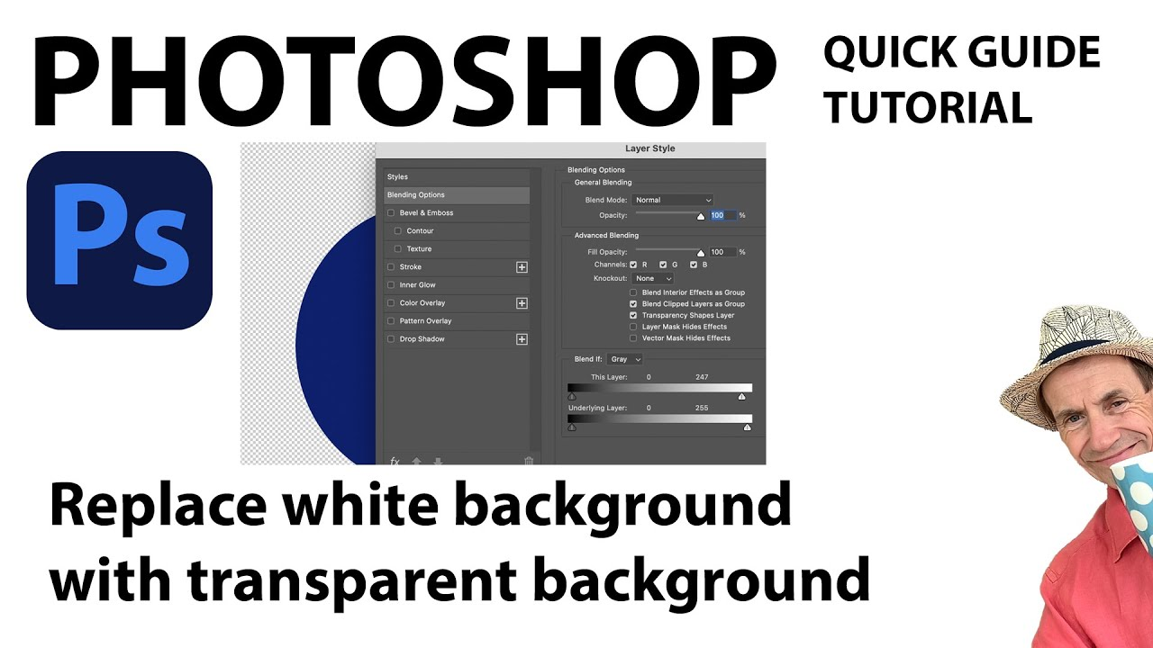 Of photoshop color in change image