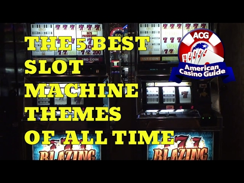 The Five Best Slot Machine Themes of All Time with Syndicated Gambling Writer John Grochowski