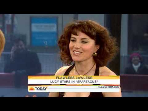 !!LUCY LAWLESS TAKES ON LUCRETIA INTERVIEW!! (SPARTACUS:BLOOD AND SAND)