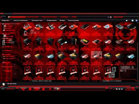 Pack De Personalizacion Red ( Theme HUD )