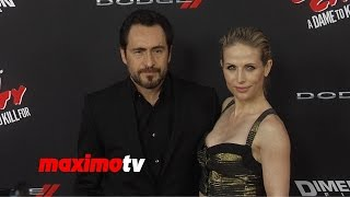 Demián Bichir & Stefanie Sherk | Sin City A Dame to Kill For | Los Angeles Premiere