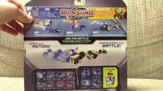 Wave 1 Monsuno Toy Opening - #5 Evo Core-Tech and #11 Driftblade S.T.O.R.M.