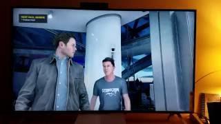 Quantum Break Upscaled to 4K on Xbox One S -Vizio M55 4K TV
