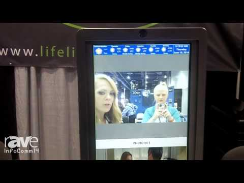 InfoComm 2014: LifeLine Shows Off Touchscreen Display with Augmented Reality App