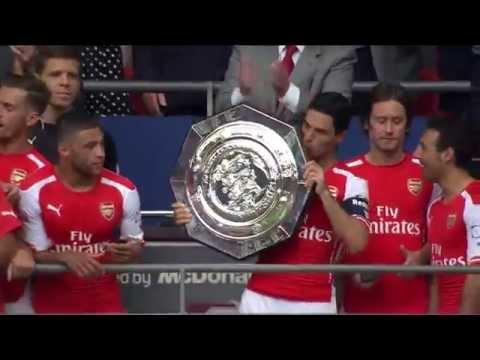 Arsenal vs Manchester City Final Community Shield