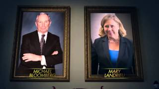 Michael Bloomberg jew Billionaire Gives Millions to CUNT LANDRIEU TO STOP WHITE GOYIM  GUN RIGHTS