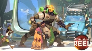 Highlight Reel #283 - Overwatch Hero Gets Hit With A Dose Of Reality