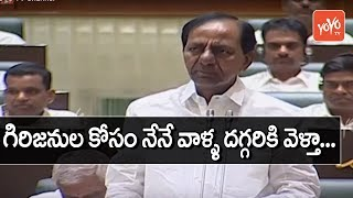 CM KCR About Forest Lands Issue in Telangana Assembly 2019