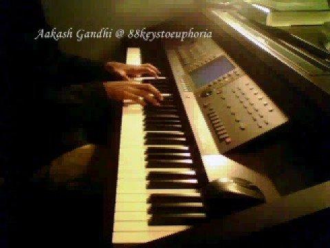 Aaj Jaane Ki Zid Na Karo Piano Cover by Aakash Gandhi