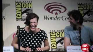 Resident Evil: Retribution - Resident Evil: Retribution Movie WonderCon 2012 Panel With Milla Jovovich & Paul W.S. Anderson