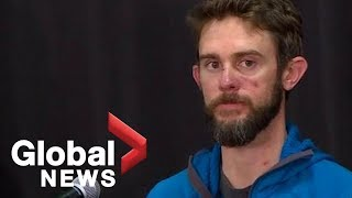 Mountain lion attack survivor describes killing animal with bare hands