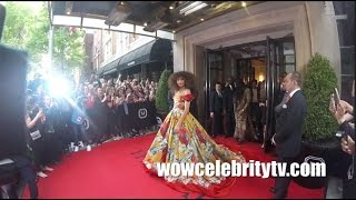Zendaya spotted Leaving The Mark Hotel for the Met Gala 2017