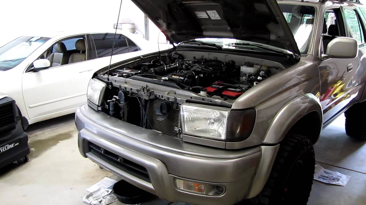 First Start Trd Supercharger 2002 4runner Youtube