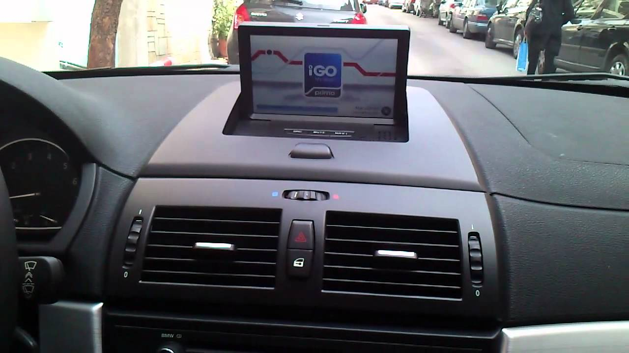 Compass Bmw X3 E83 Dvd Gps Youtube