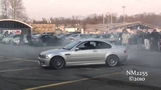 BMW M3 E46 Burnout