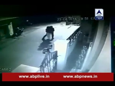 CCTV captures how man kidnaps woman from a road, tries to rape her