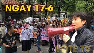 Sáng ngày 17/6: Hàng ngàn người Giáo xứ Song Ngọc biểu tình đồng hành cùng dân tộc #VoteTv