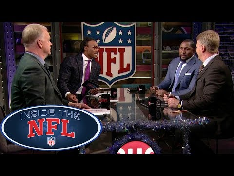 Week 16 Game Picks with Special Host Brandon Marshall | Inside the NFL