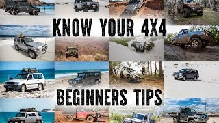 Know Your 4X4, Beginners Tips