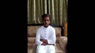 Islami song - He rasul tomay valo basi ontore sudo mukhe nay - by Tuhin