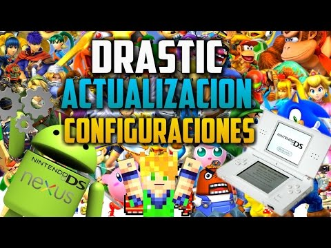 [Gratis] - DraStic - Emulador DS - Actualización - Ajustes - Como descargar ROM's