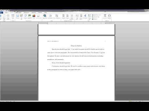 Skillmaster blog for Microsoft office apa 6th edition template