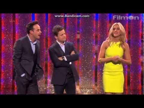 Ashley Roberts presents Ant VS Dec on Saturday Night Takeaway (Series 10, Ep. 3) 2013