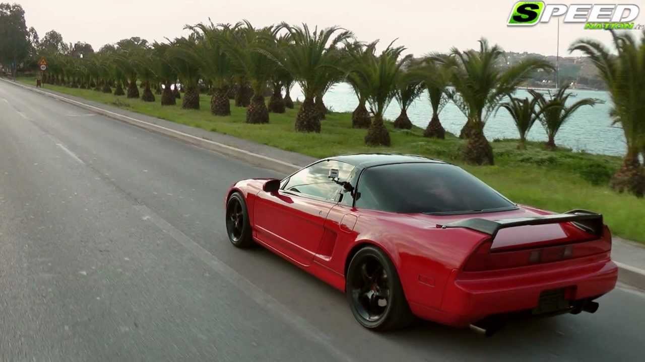 Acura (Honda) NSX Supercharger 740Ps - YouTube