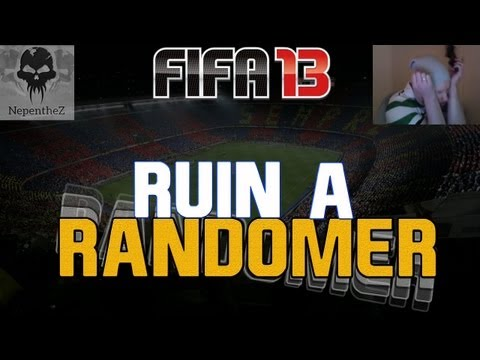 FIFA 13 Ultimate Team - Ruin a Randomer LIVE COMM / FACE CAM