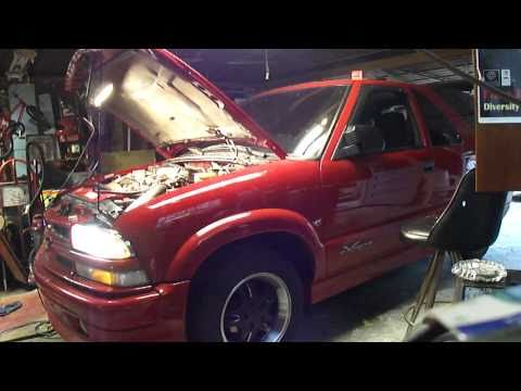 PART 5 of 5, 2001 Chevy Xtreme Blazer Anti-Freeze Leaking Intake Manifold Repair