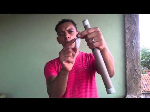 Como fazer sax pvc