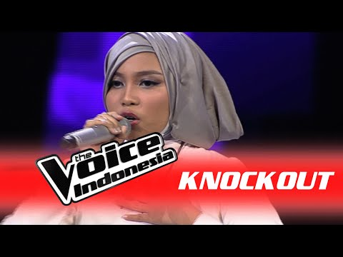 """Siti Saniyah """"One And Only"""" I Knockout I The Voice Indonesia 2016"""