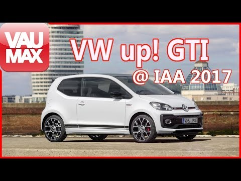VW up! GTI // Details // Technik // Design // VAU-MAX.tv kompakt // IAA 2017