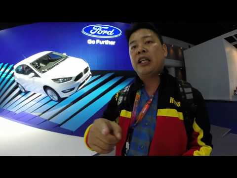 FORD IN BANGKOK MOTORSHOW 2016