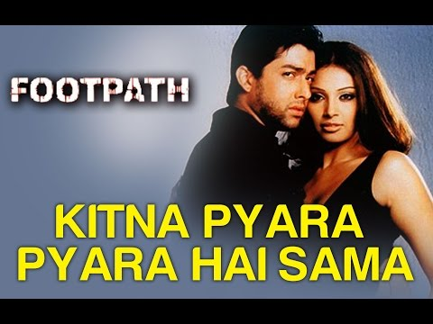 Kitna Pyara Pyara Hai Sama - Full Song - Footpath - Alka Yagnik & Abhijeet video